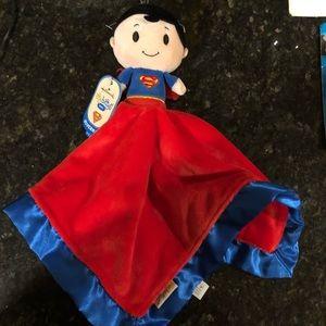 Superman hallmark baby lovie blanket